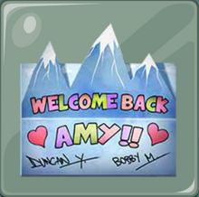 Tanto Duncan y Bobby escribieron esta carta a Amy
