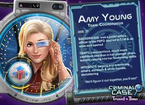 Amy Young Zamanda Yolculuk