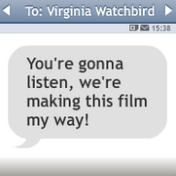 Mensaje de Lola para Virginia