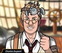 Charles confiado