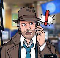 Frank Enojado por Teléfono
