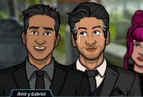 Amir y Gabriel 2