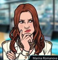 Marina Pensando 3