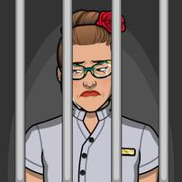 Megan en prisión