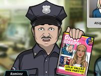 Ramirez Sosteniendo una revista
