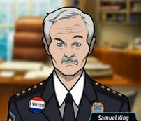 3 Samuel King - Jefe (Fallecido)