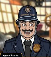 Agente Ramírez en Vapor Fulminante