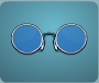 Blue Hippe Glasses