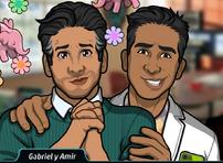Gabriel y Amir 2