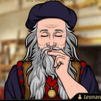 Da Vinci en Una Broma para Morirse