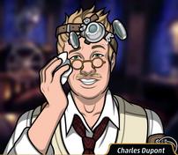 Charles sudando5