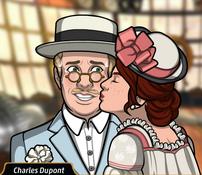 Maddie besando a Charles en mejilla2