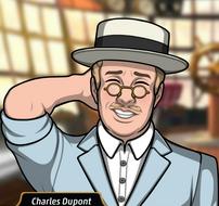 Charles con un traje de lujo1