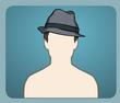 İki Renkli Şapka