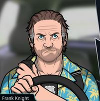 Frank Conducciendo