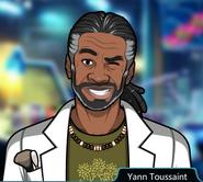 Yann Toussaint Winking