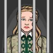 Isabel en prisión