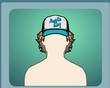 Curly Hair & Cap