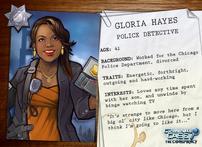 Descripción de Gloria Hayes