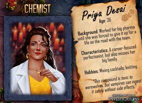 Priya Desai Tanıtım