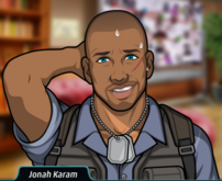 Jonah sudando 5