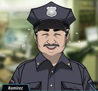 Ramirez Riendo histéricamente
