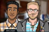 Amir y Jasper 3
