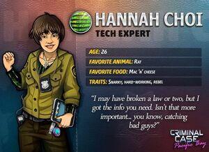 Descripción de Hannah