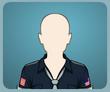 Kravatlı Koyu Polis GömleğiK