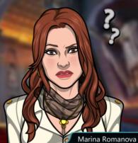 Marina Preguntándose