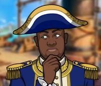 Shadrach en una muerte pirata