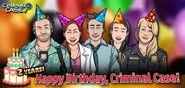 36 Celebrando el Segundo Cumpleaños de Criminal Case.