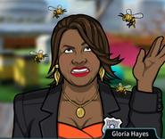 Gloria Rodeada de abejas2