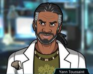 Yann Toussaint Stumped