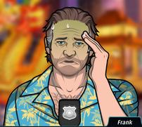 Frank Apunto de Vomitar