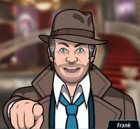 Frank Señalando con el dedo