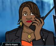 Gloria En el walkie talkie2