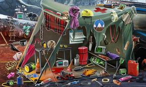 10 Campamento abandonado