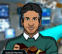 Gabriel Sosteniendo ropa y accesorios2