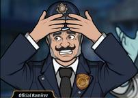 Oficial Ramírez en Bu