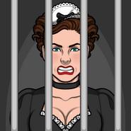 Francine encarcelada