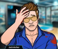 Jack con un disparo en el brazo 2