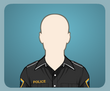 Siyah Polis Gömleği