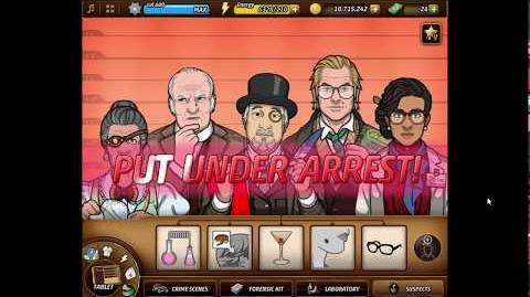 Criminal Case Mysteries of the Past Case 47 - Doom Service Arrest Killer!