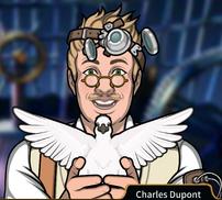 Charles Conjurar una ilusión de paloma