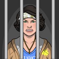 Mónica en prisión