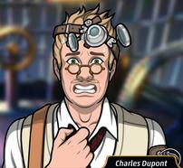 Charles sudando4