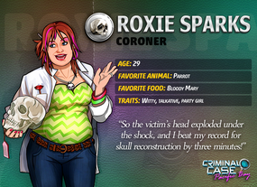 Roxie Sparks Info 2017