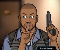 Jonah con su pistola 3