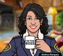 Andrea Tomando Café